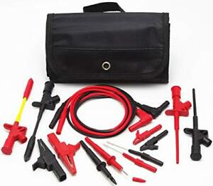 Us Electronic Specialties Automotive Test Probe Lead Kit Set Multimeter Meter
