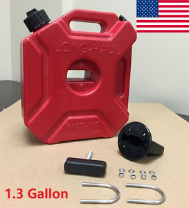 1 3gallon Gas Spare Container Fuel Pack Can With Mounting Kit Atv Utv Off Road X