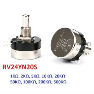 Rv24yn20s Carbon Film Single Turn Potentiometer Adjustable Resistors 1k To 500k