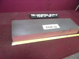 A2 A 2 Tool Steel Flat Bar Stock 4 X 2 X 14 Raw52