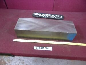 A2 Tool Steel Flat Bar Stock 3 X 3 5 8 X 12 Raw54
