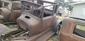 Model T Ford Tall Coupe Rat Rod Project Parts Landscape Art Jalopy Model A Coupe