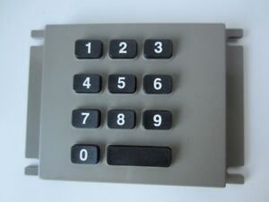 Diebold 19 019062 001 a Atm Keyboard Key Pad With Braille