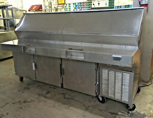 Traulsen Vps90j Jumbo 90 Pizza Prep Table