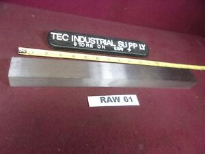A2 A 2 Tool Steel Flat Stock 1 X 1 1 2 X 14 Raw61
