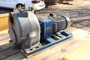 Gorman Rupp 4 T Series Self Priming Pump 15 Hp Baldor Irrigation