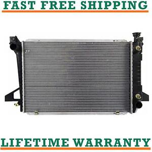 Radiator For 85 96 Bronco F150 F250 F350 4 9 L6 Fast Free Shipping Direct Fit