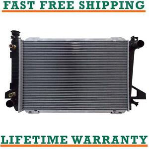 Radiator For Ford Bronco F150 F250 F350 V8 5 0l 5 8l Free Shipping Direct Fit