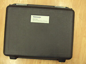 Tektronix P6716 Logic Analyzer Probe 16 Ch Pci Express Mid bus With Carry Case