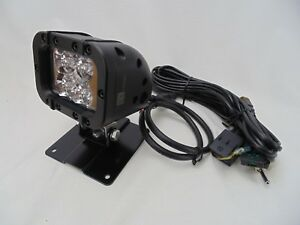 Larson 4 Led Flood Light Permanent Mount Plate On off Toggle Switch 720 Lum 12 W