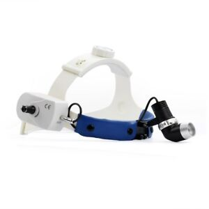 Dental Surgical Led Headlight Wireless Operating Headlamp Brightness Adjustable