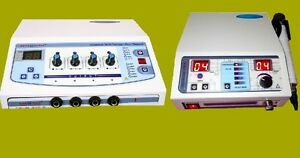New Multicurrent Electrical Electrotherapy Ultrasound 2 Unit Physiotherapy Sfgs