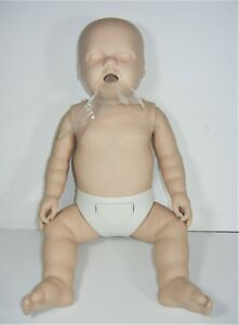 Prestan Cpr Training Learning Life size Infant Baby Mannequin With Carrying Bag