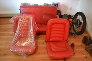 Ford Mustang Seats 1965 1966 Coupe