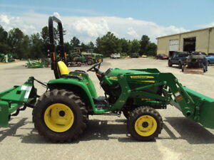 John Deere 3038e 4wd Ldr And Frontier Bb2060 Boxblade 2017 W 4 Hrs Mint