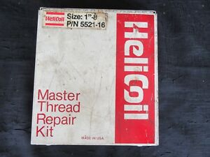 Helicoil Master Thread Repair Kit 1 8 P n 5521 16 Not Complete 2 Pk Inserts