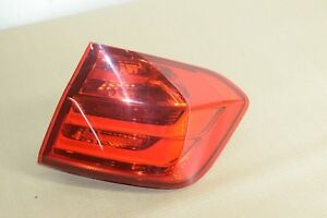Bmw F30 Rear Right Passenger Side Outer Quarter Tailight Tail Light Lamp Oem