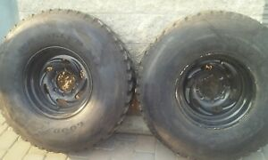Weld Racing 8 Lug 16 5 2 Wheels And 37x12 50 Military Tires used pick Up Only