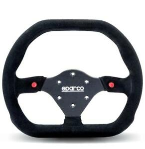 Sparco Racing Steering Wheel 310x260 Suede Black 310mm