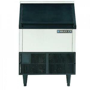 Maxx Ice Mim250 Self Contained Undercounter 260 Pound Commercial Ice Maker Rfb