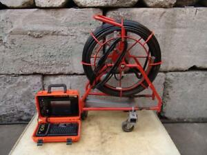 General Gen Eye Drain Cleaner Inspection Camera 200 Feet With Pipe Locator
