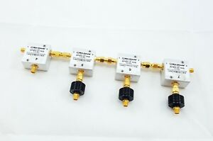 4 X Mini circuits Zfsc 2 10g 2 10ghz Splitter 3 X Vat 20w2 2w 20 Db Attenuator