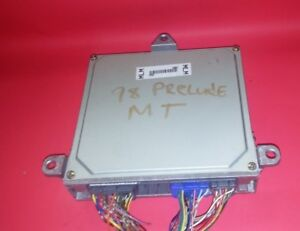 97 98 99 00 01 Honda Prelude Base Model H22a4 Vtec M T Engine Ecu 37820 P5m L03
