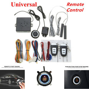 15ma Immobilizer Rfid Car Entry Security Keyless Start Stop Push Button Remote