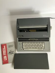 Smith Corona Electric Spellright Typewriter Sd 770 with Extra Ribbon Cartridges