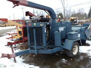 Brush Bandit 250 Xp Chipper Diesel Hdy Feed One Qwner