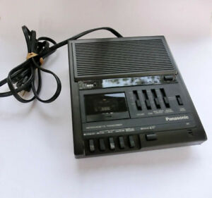 Panasonic Rr 930 Microcassette Transcriber Recorder Tested Works Great Cassette