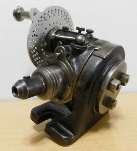 Vtg Brown Sharpe Dividing Head Milling Lathe Machine Index Gear