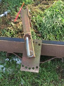 Vintage Sears Scraper Blade For Tractor