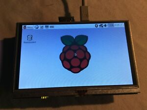 Raspberry Pi 3 5 X 5 Inch Lcd Touch Screen 16gb Flash Operating System Installed