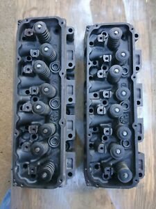 1973 Ford Mustang Mach 1 351c 4v Cj Open Chamber Cylinder Heads D3ze aa