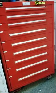Equipto Rolling Tool Parts Cabinet 9 Drawer