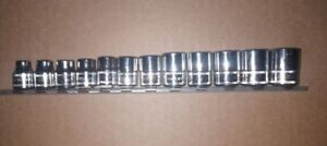 Snap On 3 8 Drive Metric Socket Set