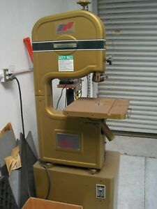 Powermatic 14 metal Cutting Bandsaw 143 110 Volt Very Good Condition