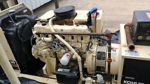 Kohler Rapid Response 30 Kw Genset Natural Gas lpg Low Hours Ats