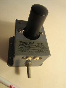 Vintage Bliley Cco 2a Crystal Frequency Oscillator Used On Military Tube Radio