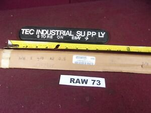 A2 Tool Steel 3 8 X 5 8 X 18 Oversized Ground Flat Stock Raw73