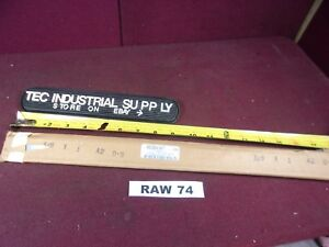 A2 A 2 Tool Steel 3 8 X 1 X 18 Ground Oversize Flat Stock Raw74