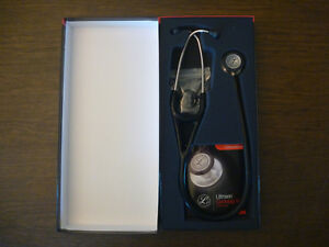 3m Littmann Cardiology Iv 27 Inch Black Stethoscope Brand New In Box 6152
