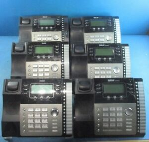 Lot Of 6 Rca Business Expandable 4 Line Telephone 25424re1 a Used