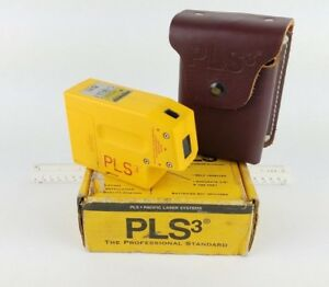 Pacific Laser Systems Pls 3 Self leveling Pls3 Level Point Red Plumb Alignment