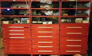 Equipto Modular Wall Drawer Cabinets Superb Garage Storage System Of 4 Units