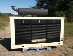 Kohler 80 Kw Standby Natural Gas Generator Set W 575 Hours