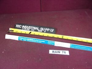 A2 Tool Steel 5 16 X 3 8 X18 Precision Ground Oversized Flat Stock Raw76