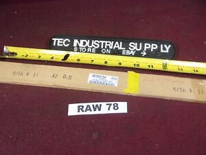 A2 A 2 Tool Steel 5 16 X 1 1 2 X 18 Oversized Flat Stock Raw78
