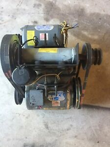 Milnor 35lbs 1ph Jackshaft Assembly And Motors